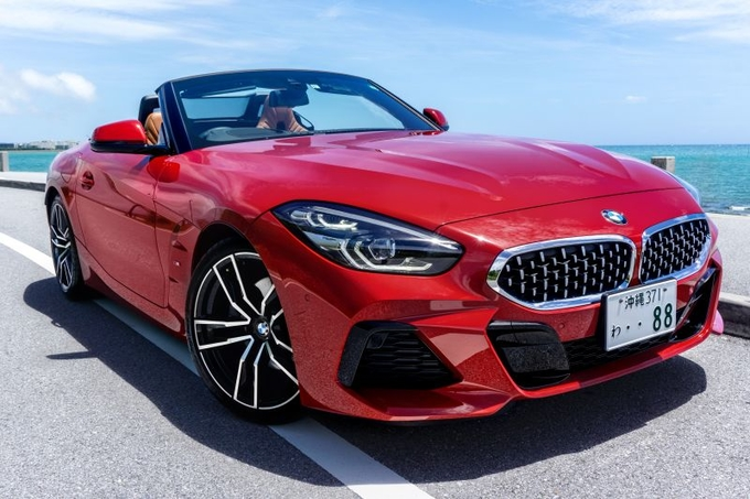 BMW Z4 Mスポーツ 赤 HF20
